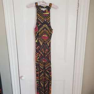 H&M Coachella Printed Maxi Dress